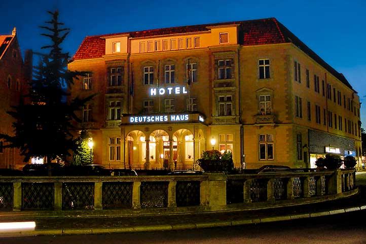 The Hotel Deutsches Haus in Braunschweig